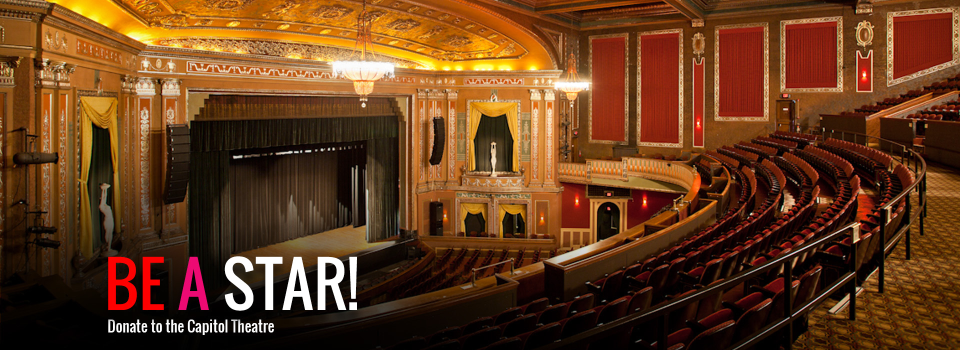 Donate To The Capitol Theatre